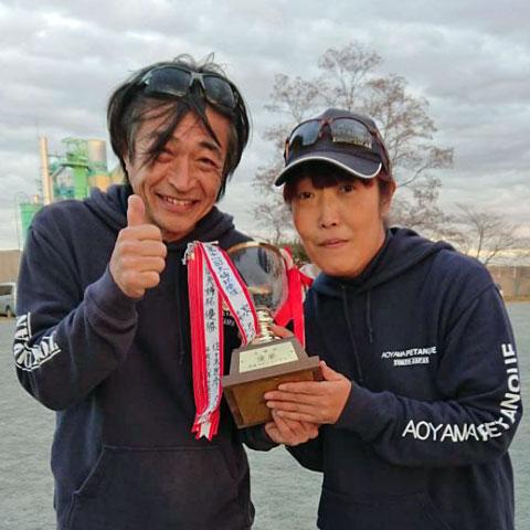 2018 Kawamoto Married Couple Cup Ayu Naoki Goma