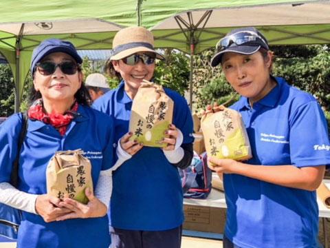 2018 Tani Cup Petanque Tournament Ayu, Hosoda and Hakoishi