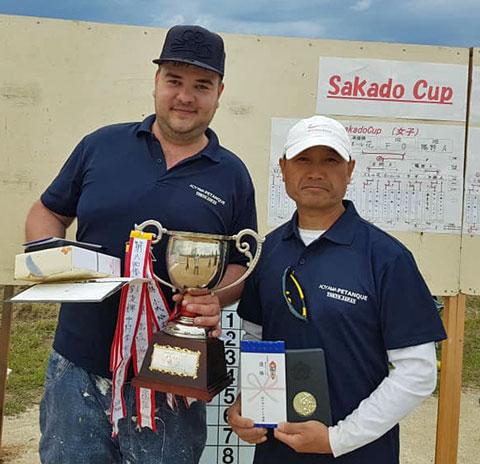 2019 Sakado Cup Matthias and Toshida in 1st Place