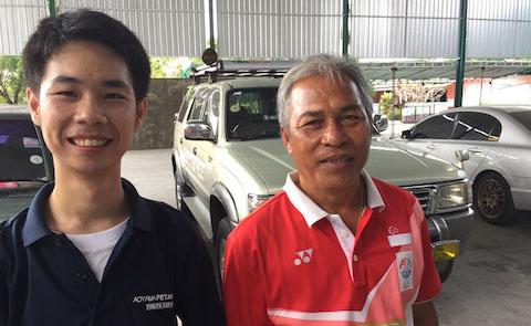 2019 Aoyama Petanque in Bangkok Dumrong-san Bas-kun