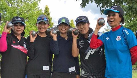 Ayumi Goma to lead national team at women petanue world championship 2017